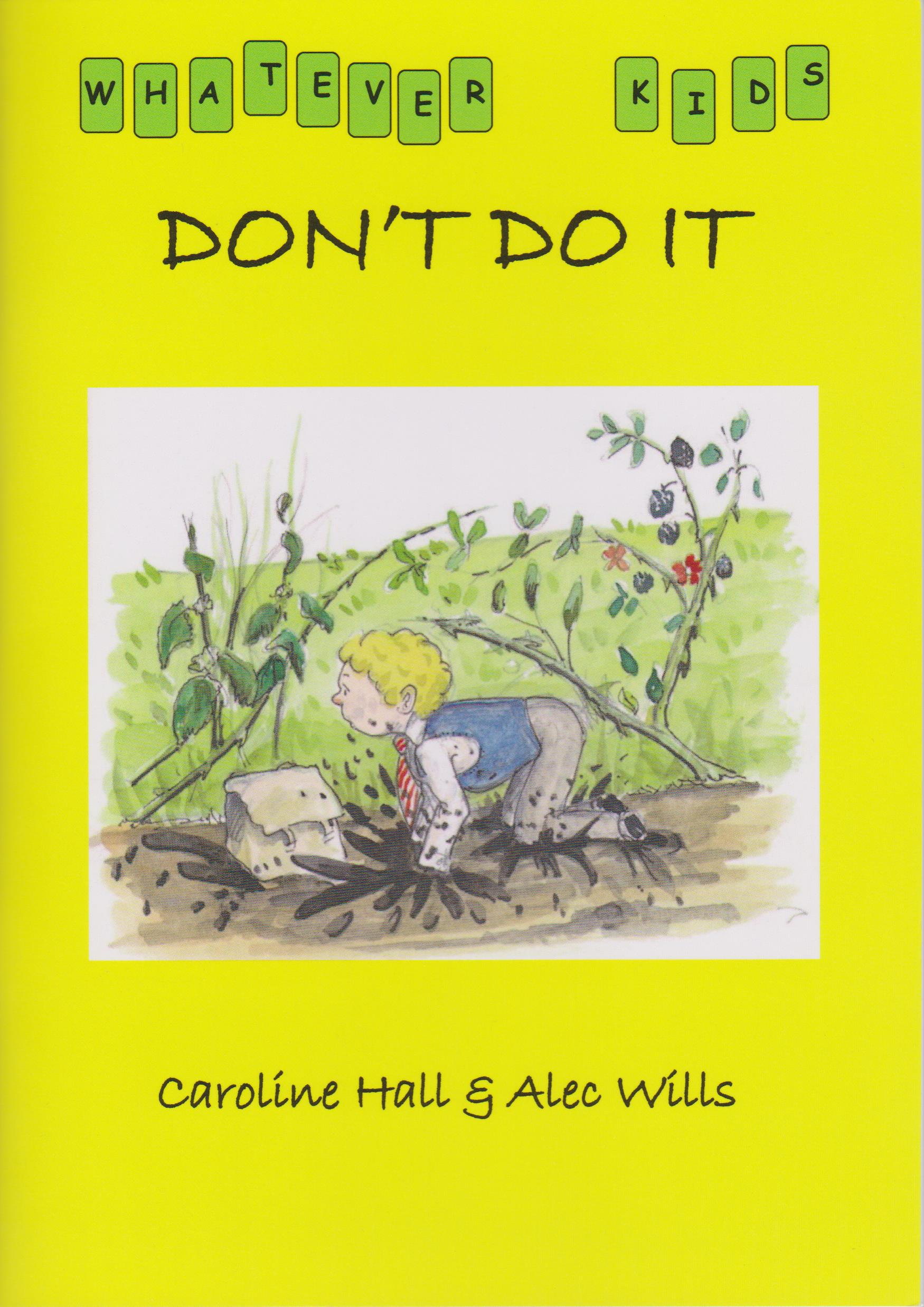 don't do it book cover