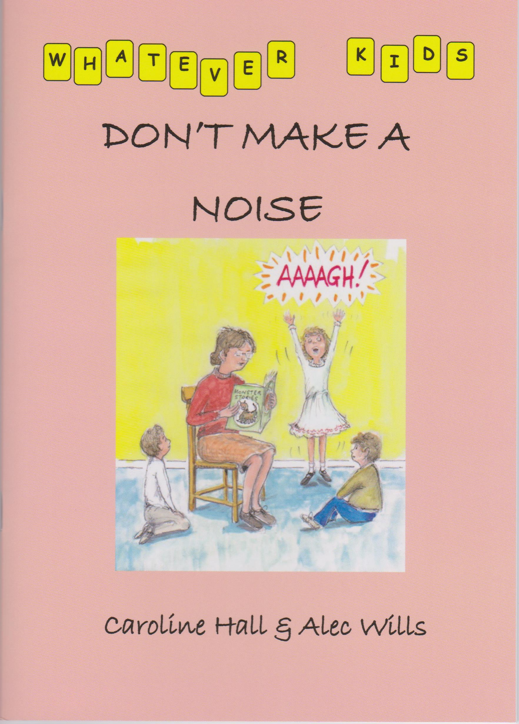 don't make a noise book cover